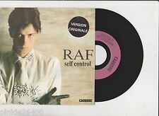 ♫ RAF  ♫  SELF CONTROL ♫  45 tr 1984  CARRERE 13401. Tube eighties. 7''