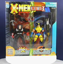 MARVEL XMEN ALTERNATE X WEAPON X AND WOLVERINE COLLECTORS KEYRING BOXED(1996)