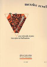 Pièce en Forme De Habanera -- Maurice Ravel -- Violoncelle et Piano