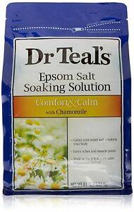 Dr Teal's Epsom Salt Soaking Solution, Chamomile, 48 Ounce