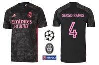 Trikot Adidas Real Madrid 2020-2021 Third Sergio Ramos 4 I 3rd Champions League
