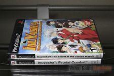 Inuyasha Cursed Mask + Feudal Combat (PlayStation 2, PS2 2005) Y-FOLD SEALED!