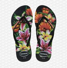 Havaianas Femme Tongs Slim Floral Mode Style Pantoufles Plage 4129848-1069