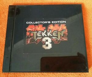SONY PS1 Playstation 1 Collectors Edition TEKKEN 3 boxed