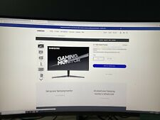 Samsung 27-Inch CJG56 144Hz Curved Gaming Monitor (LC27JG56QQNXZA)