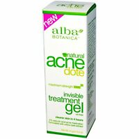 Acne Dote, Invisible Treatment Gel, Oil-Free, 0.5 oz (14 g)
