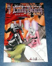 Lady Death medieval War Of The Winds #1 Wrap variant Brian Pulido Avatar Comic