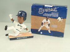 2007 Milwaukee Brewers Rickie Weeks Bobblehead In Box