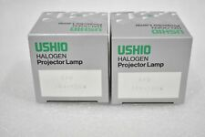 USHIO EFR 15V-150W HALOGEN PROJECTOR LAMP ( LOT OF 2 )
