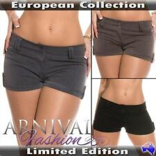 Polyester Low Rise Mini, Shorts for Women