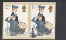 Organización Juvenil GB 1982 15.5p tarjeta chicos Brigada RM PHQ FDC Glasgow Pict PMK