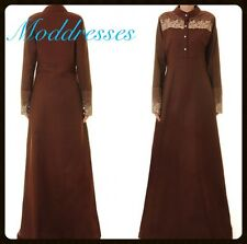 Beautiful abaya/jubbah/jilbab/kaftan/farasha/hijab/women burka/islamic dress ,