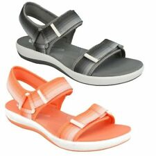 Clarks Textile Strappy Sandals & Beach Shoes for Women