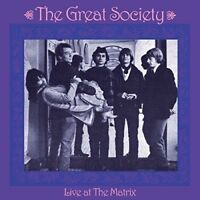 The Great Society - Live At The Matrix [New CD] UK - Import