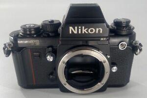 Nikon F3 HP F3HP 35mm SLR Film Camera Black Body Only FREE SHIPPING