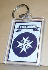 St John Ambulance Service key ring..