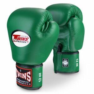 Twins  Boxing Gloves BGVL-3 Dark Green  8,10,12,14,16 oz  MuayThai  MMA K1