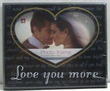 Photo frame 6x4 Heart shape of Love New & Sealed
