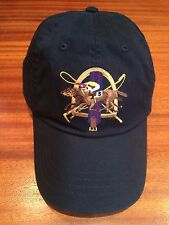 NWT POLO RALPH LAUREN  GREEN COTTON CHINO JOCKEY RACEHORSE CAP 6 PANEL STRAP HAT