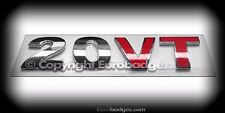 1 - NEW 20V Turbo 20 Valve chrome badge emblem fits vw gti jetta gli (20VT)