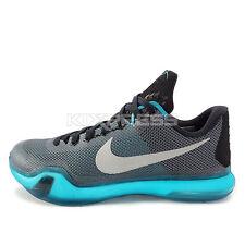 Nike Kobe X EP [745334-002] Basketball Black/Silver-Grey-Emerald