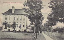 High School, Mount Forest, Ontario, Canada, PU-1909