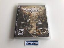 Le Seigneur Des Anneaux L'Age Des Conquêtes - Sony PS3 - FR - Neuf Sous Blister