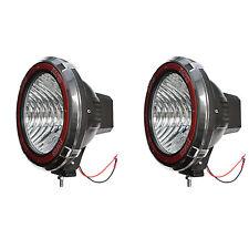9 Inches 4x4 Off Road 6000k 55w Xenon Hid Fog Work Lamp Light Flood 2pcs