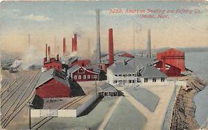 H60/ Omaha Nebraska Postcard c1915 American Smelting Refining Factory 143