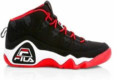 Fila Men's Grant Hill 1 Basketball Shoes  Black/White/Fila Red