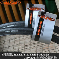 NEW 1pair MAXXIS Detonator SIERRA 700*23C Black MTB Road Bike Tires Cycling Tyre