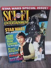 STAR WARS February 1997 Sci-Fi Entertainment MAGAZINE C3PO Skywalker SOLO Vad SC