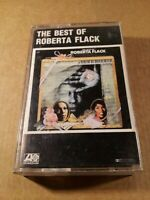 The Best Of Roberta Flack : Vintage Tape Cassette Album from 1981