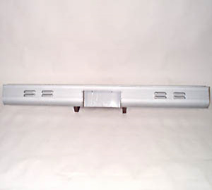 Rear Roll Pan Chevy 1973 - 1987 Chevrolet 4 Row Louvres Fleetside Truck Bed