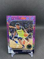 2020 PANINI NBA HOOPS PREMIUM STOCK JARRETT CULVER PURPLE DISCO PRIZM RC#203-PWE