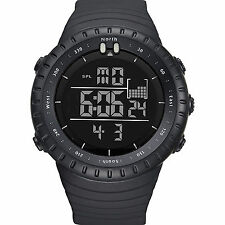 Reloj de Pulsera hombre Militar Deporte Digital De Choque/Resistente Al Agua Táctica Impermeable