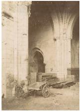 W.S., France, Aigues-Vives, Faverolles-sur-Cher Vintage albumen print Tirage a