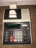 RARE Vintage Calculator Unisonic XL-131 Printing 12 Digit #A28