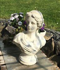 A Frauenbüste * Valo * Skulptur Statue Figur Büste Frau Torso Deko Shabby Stein