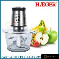 Haeger Food Processor Blender Chopper Mixer Coffee Spices Grinder Smoothie Maker