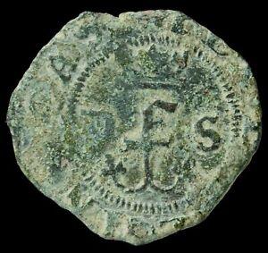 Blanca Catholic Kings, Sevilla Mint - 19 mm / 1.38 gr.