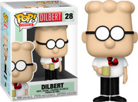 Dilbert Comics FUNKO POP VINYL NEW in Box