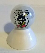 SIR WALTER RALEIGH TOBACCO LOGO ON WHITE PEARL MARBLE