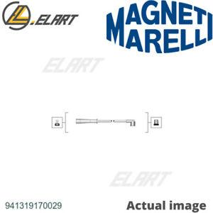 IGNITION CABLE KIT SET FOR RENAULT DACIA MEGANE I COACH DA0 1 MAGNETI MARELLI