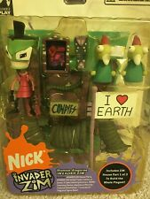 Invader Zim Series Two (Of Doom): Human Disguise Zim Figure Palisades Toys