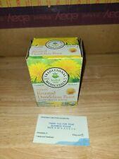 Organic Roasted Dandelion Root Tea, Traditional Medicinals,  BB 05/2020