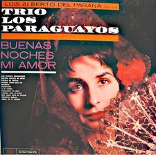 LUIS ALBERTO DEL PARANA/TRIO LOS PARAGUAYOS buenas noche mi amor LP EPIC VG++
