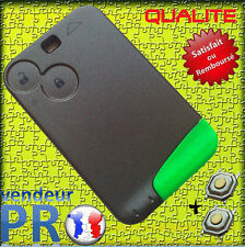 ★★★ Coque PLIP Carte Renault LAGUNA VEL SATIS ESPACE Clé 2 Boutons ★★★