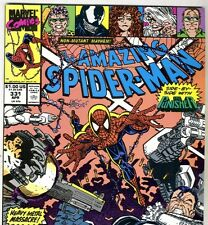 The Amazing Spider-Man #331 with The PUNISHER from Apr. 1990 in NM- condition DM