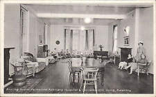 Swanley. Sitting Room, Parkwood Auxiliary Hospital & Convalescent Home.